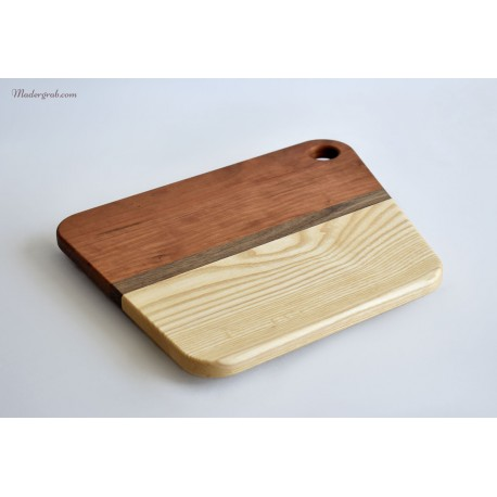 Tabla de madera para presentaciones.