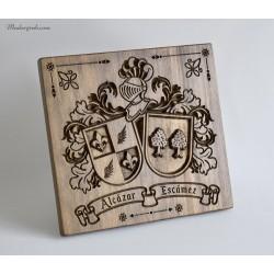 Escudo heraldico regalo aniversario