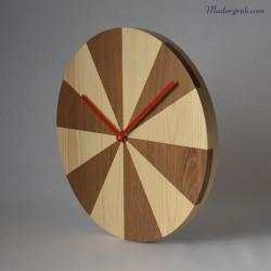 Reloj madera minimalista