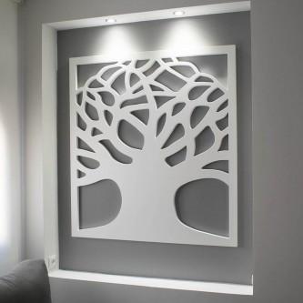 Celosía de madera personalizada
