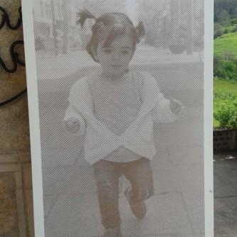 Fotograbado niña