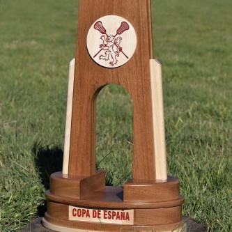 Trofeos de madera personalizados